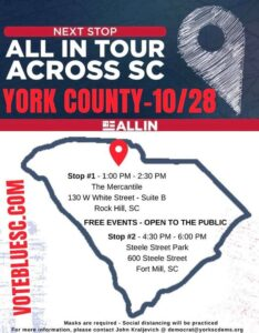SCDP All-In Tour Stop in Rock Hill @ The Mercantile | Rock Hill | SC | United States